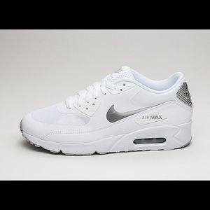 Nike Air Max 90 Ultra 2.0 Essential White Silver 8